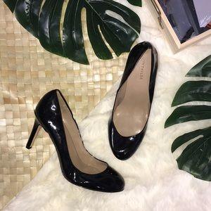 Ann Taylor Black Patent Leather Heels